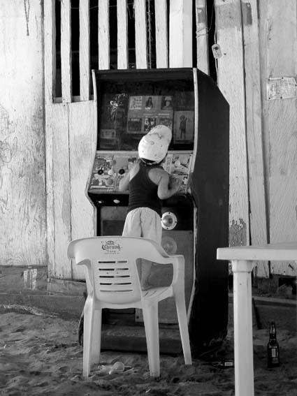 niño y juke box